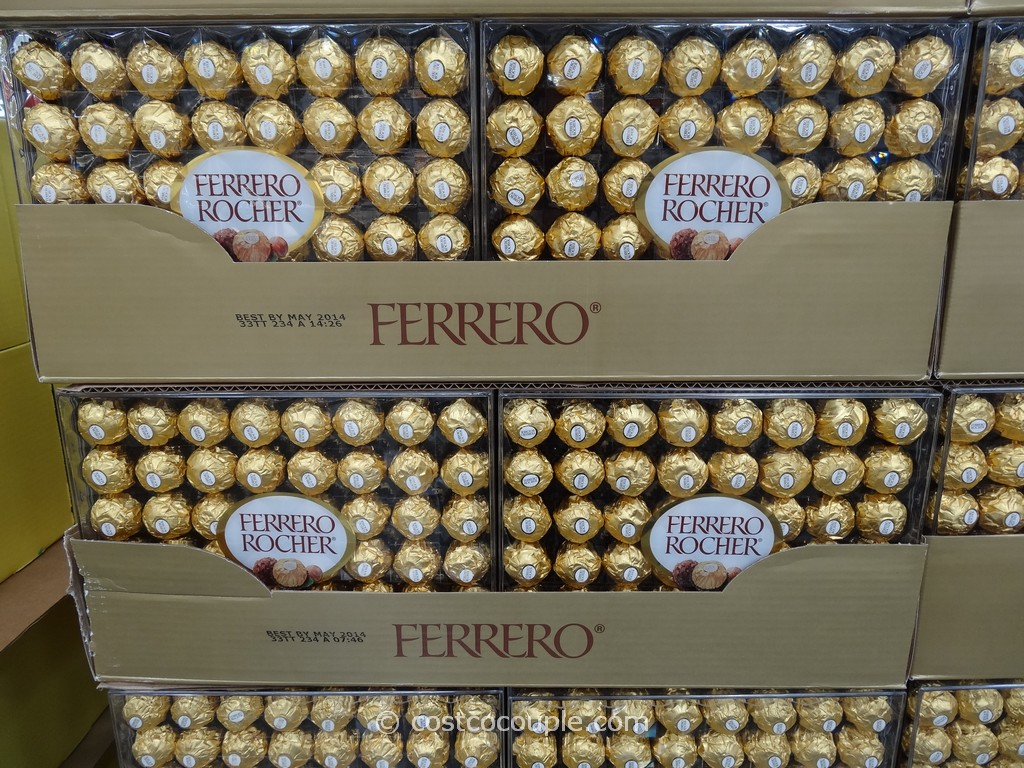 Ferrero Rocher Hazelnut Chocolates