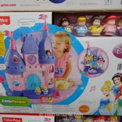 Fisher Price Kids Table And Chairs Dining Chair Covers Auckland Fisher-price Little People Disney Princess Songs Palace Gift Set
