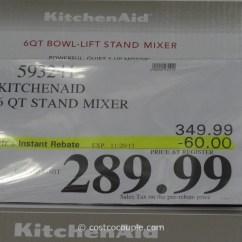 Kitchen Aid Coupons Copper Faucets Kitchenaid 6 Qt Stand Mixer