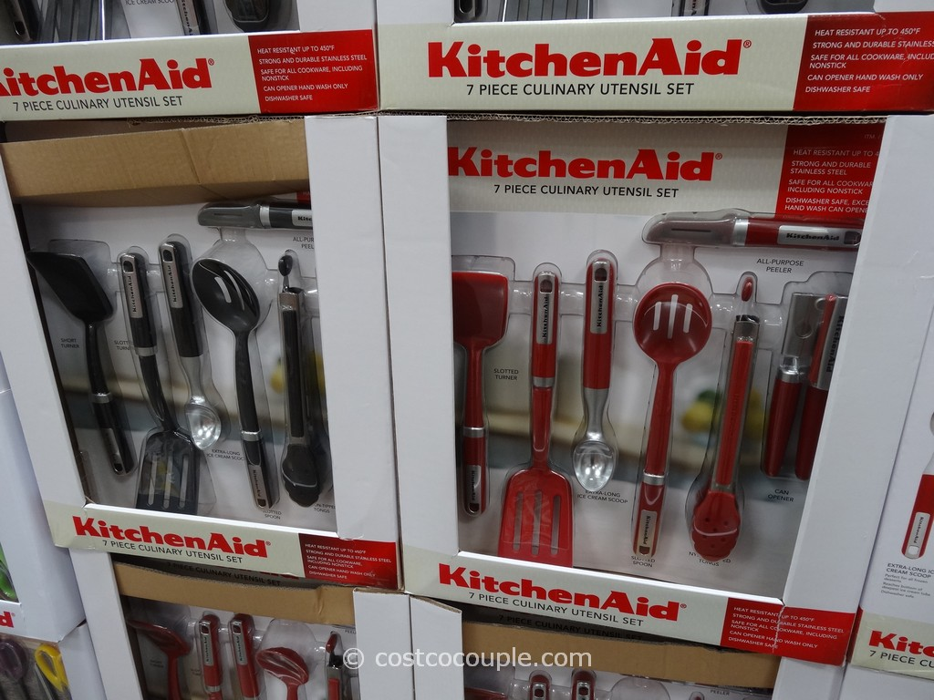 costco kitchen aid top rated faucets kitchenaid culinary utensil set 1