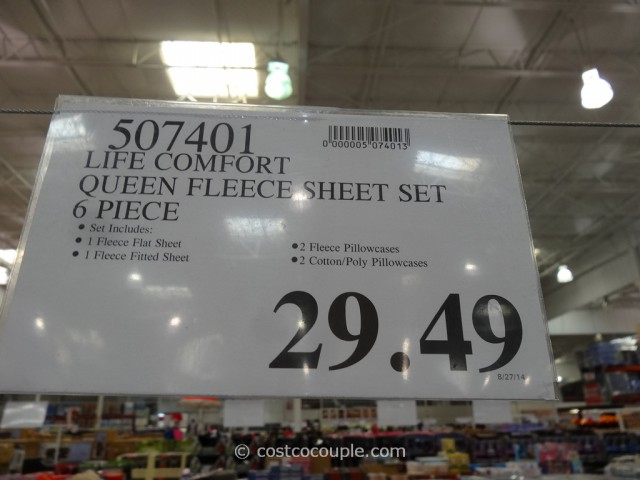 Life Comfort Fleece Sheet Set