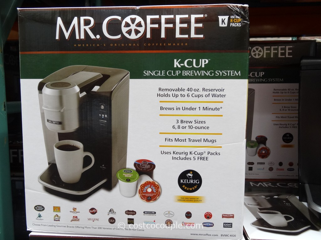 Mr Coffee Single Serve Brewer