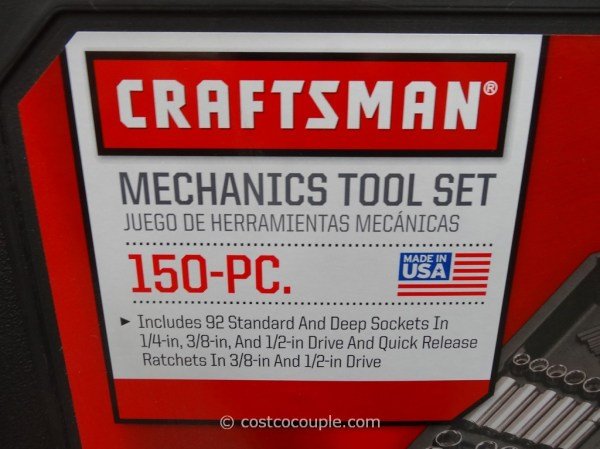 Craftsman 150-Piece Mechanics Tool Set
