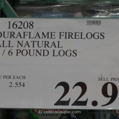 Usa Made Sleeper Sofa Reclining Bed Duraflame Natural Firelogs