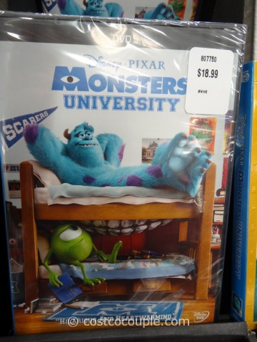 Monsters University DVDBluRay