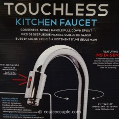 Kitchen Faucets At Costco Personalized Towels Royal Line Touchless Chrome Faucet