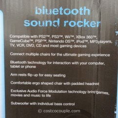 Costco Gaming Chair Small Kitchen Table And Chairs Canada X-pro Xrocker Bluetooth Sound Rocker