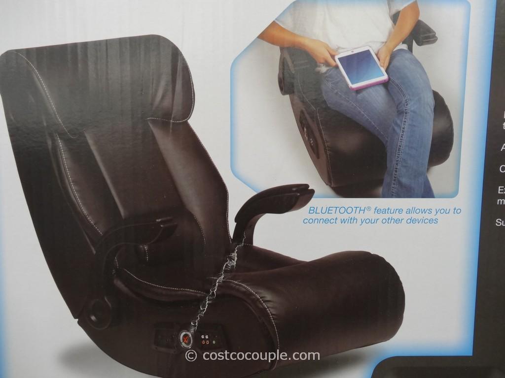 costco gaming chair massage pads x pro xrocker bluetooth sound rocker