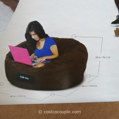 Bean Bag Storage Chair Bassett Inspired Office Elite Chil-lax