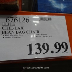 Costco Bean Bag Chair Anywhere Replacement Cover Elite Chil Lax