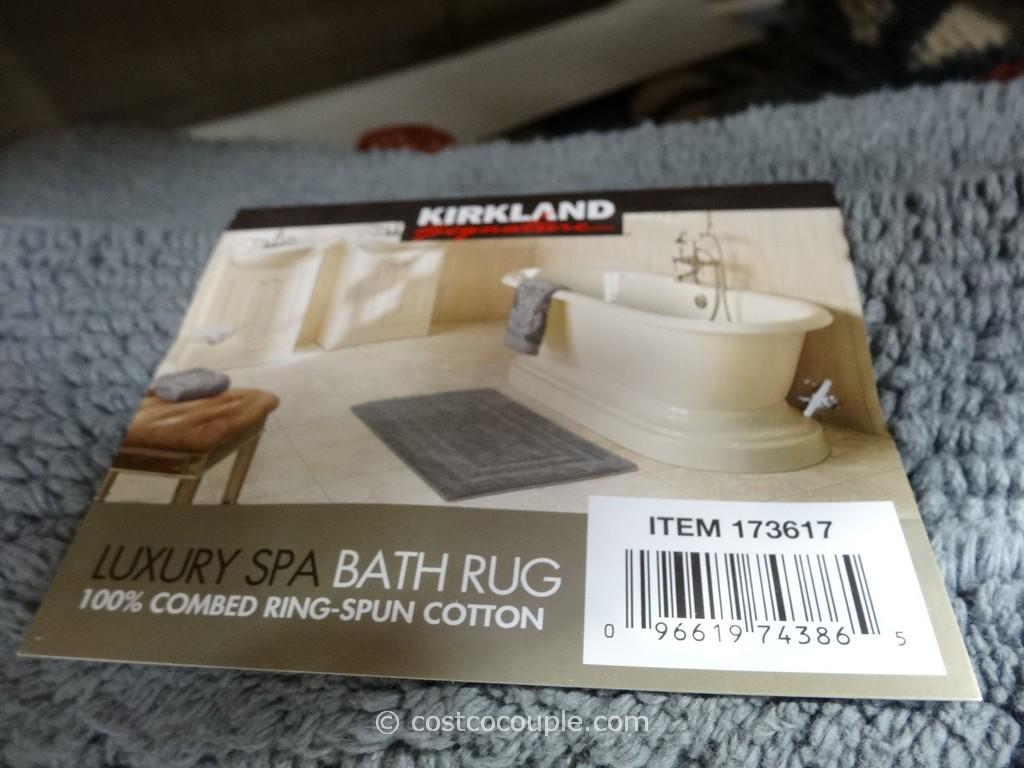 grey kitchen backsplash modern light fixture kirkland signature reversible cotton bath rug