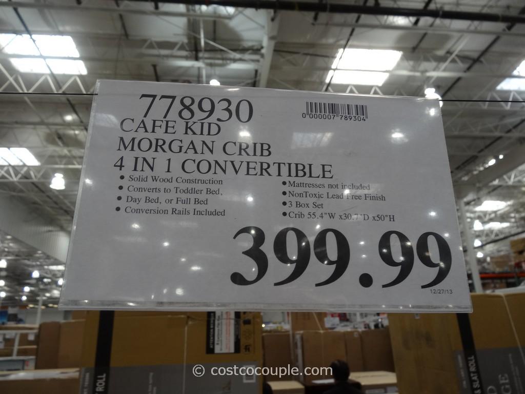 Cafe Kid Morgan Convertible 4in1 Crib