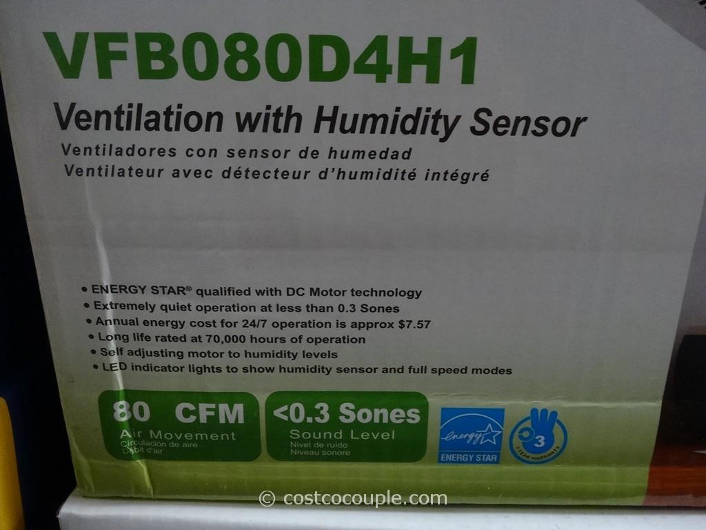 Delta Breez HumiditySensing Bath Ventilation Fan