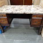 Divino Marble Top Writing Desk