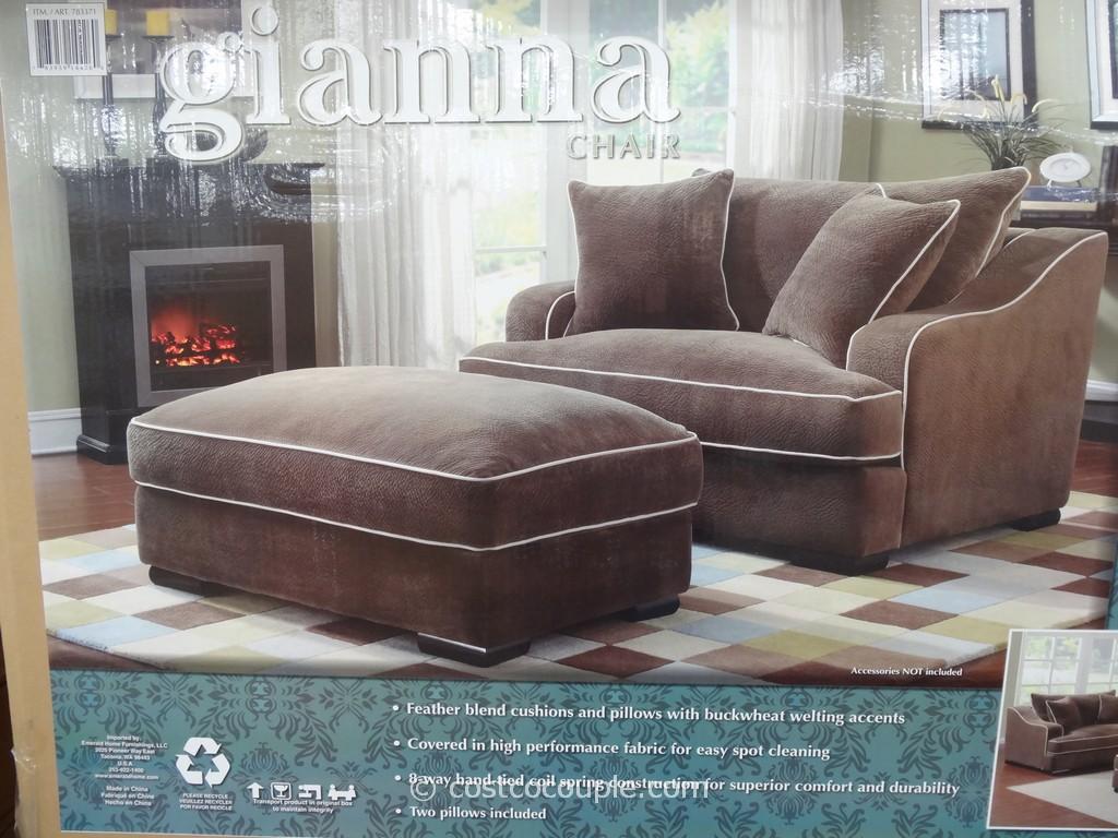 chaise sofa with ottoman costco value city couches sofas newton