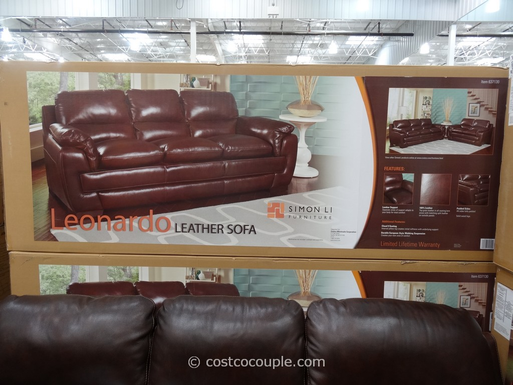 simon li leather sofa costco review affordable sofas online awesome natuzzi
