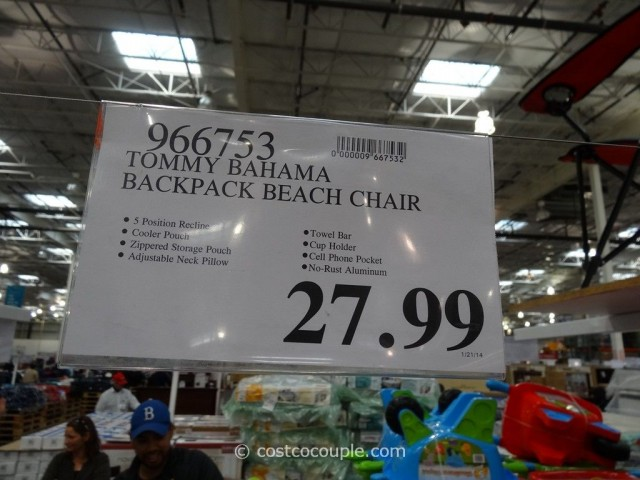 padded beach chair plastic lawn chairs kmart tommy bahama backpack