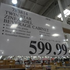 Hanging Chair Costco Poly Rocking Lancaster Pa Twin Star Zinfandel Thermoelectric Wine Cooler And Cabinet