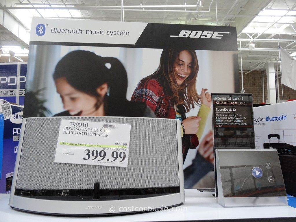 Bose Soundock 10 Bluetooth Speaker