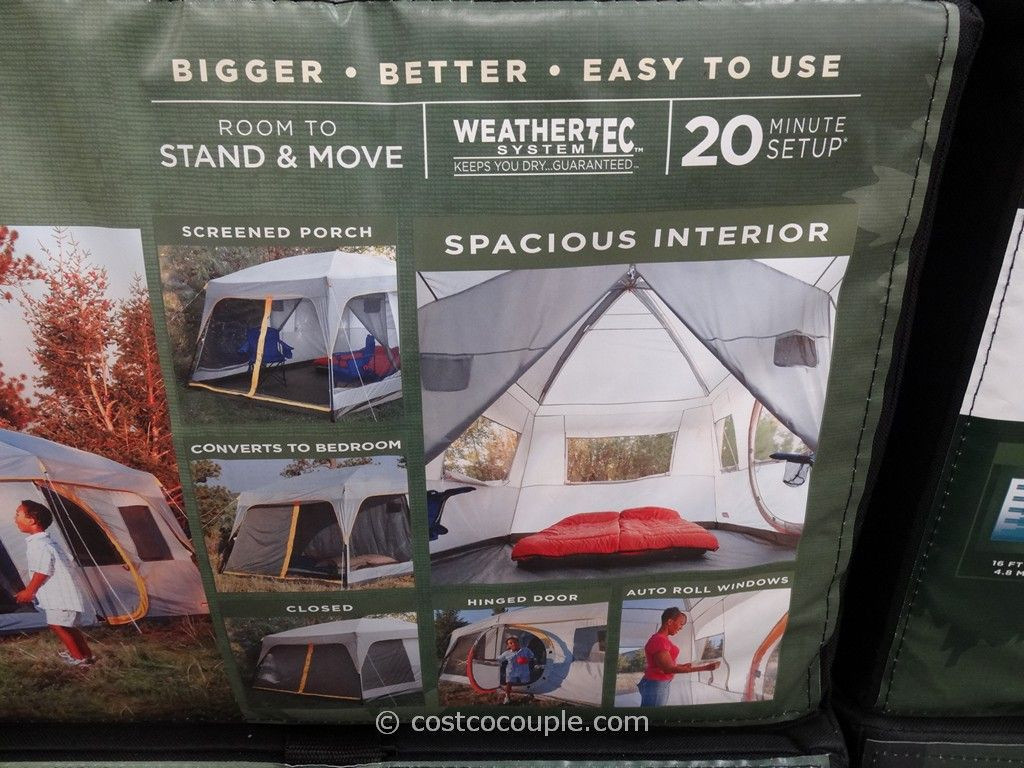 Coleman Weathermaster II 10 Person Screened Tent