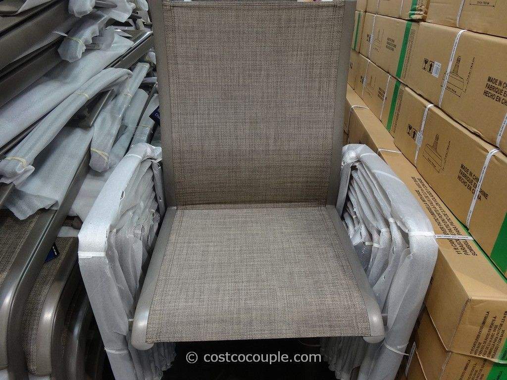 stackable chairs costco couch and chair covers at walmart kirkland signature commercial sling