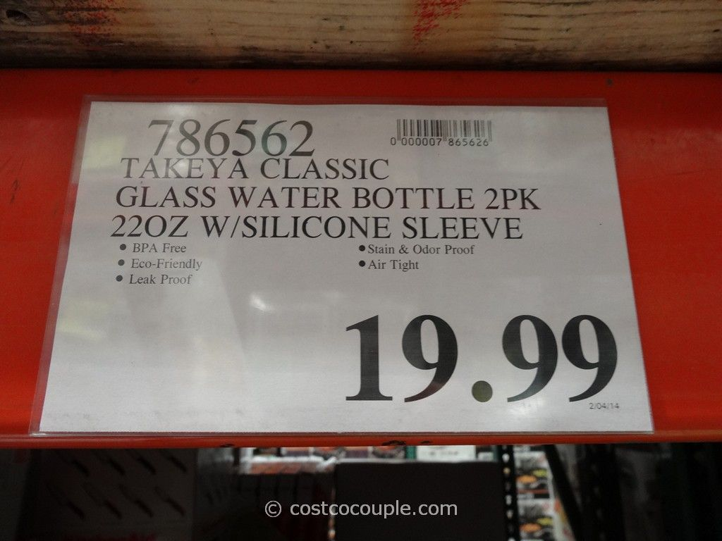 Takeya Glass Beverage Bottles
