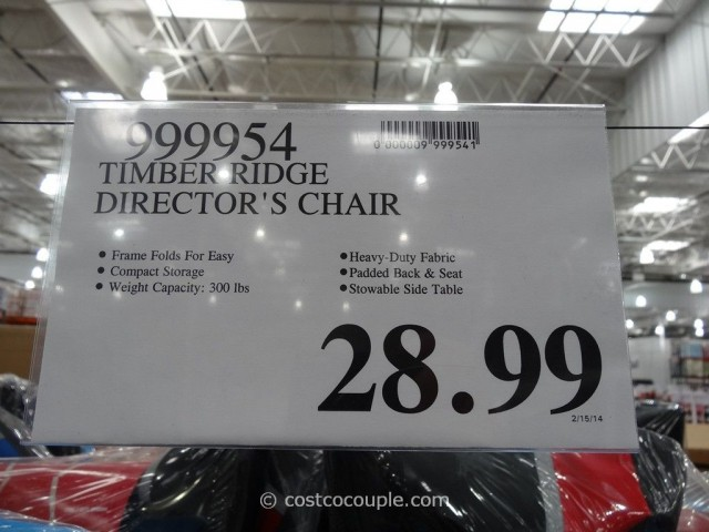 Timber Ridge Directors Chair