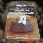 Kirkland Signature 24 Inch Snuggler Pet Bed
