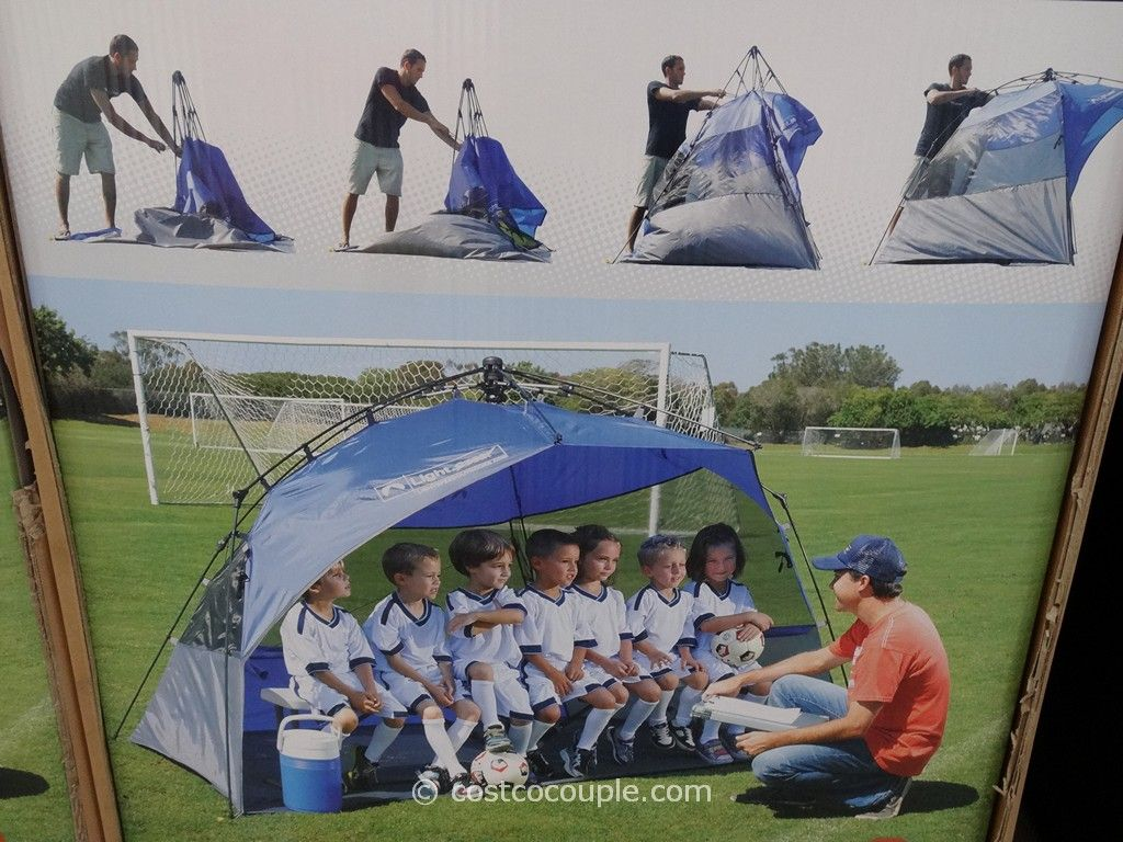 beach chairs with shade inada massage lightspeed sport shelter