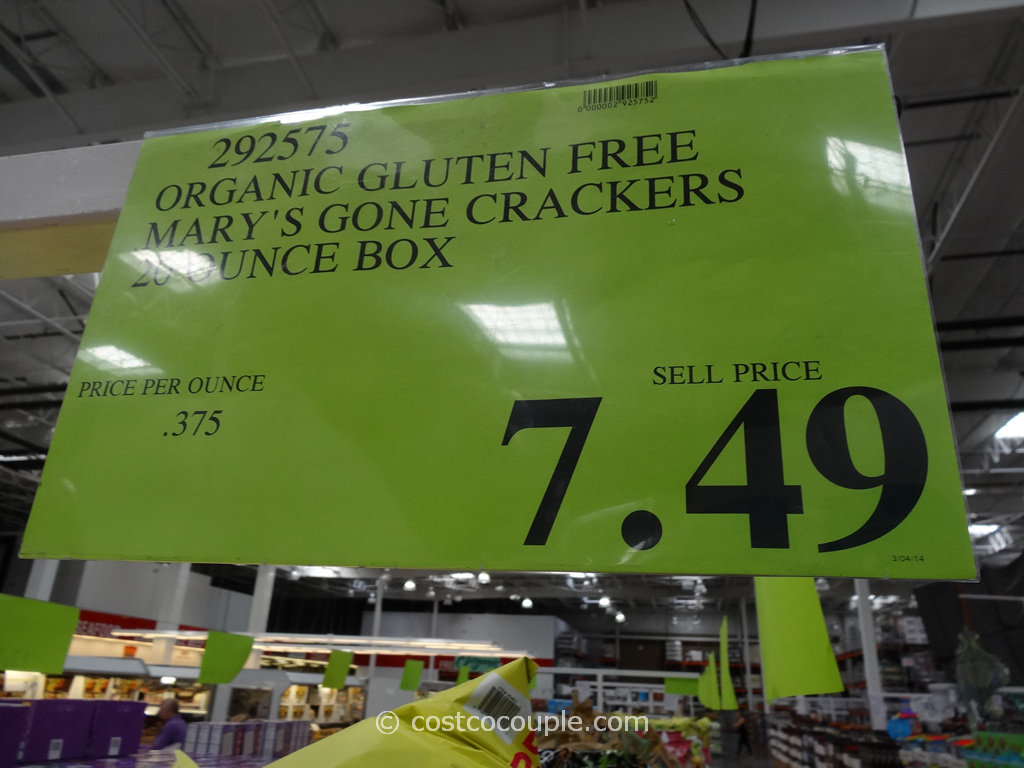 Mary S Organic Gone Crackers