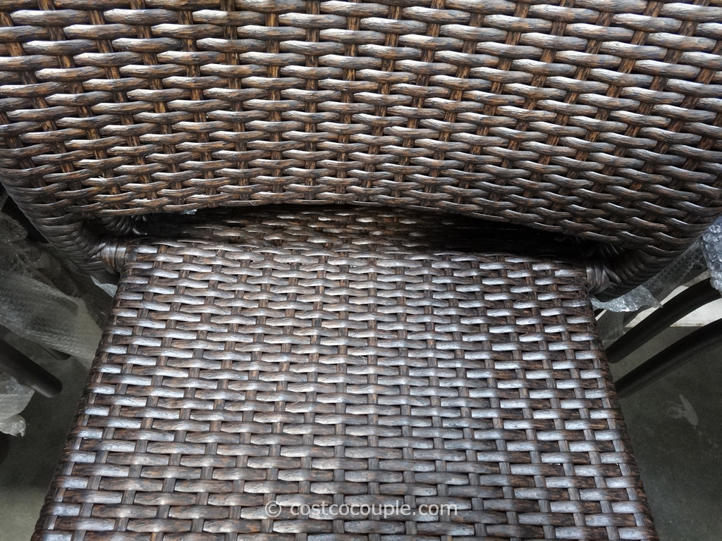Resin Wicker Bistro Chairs