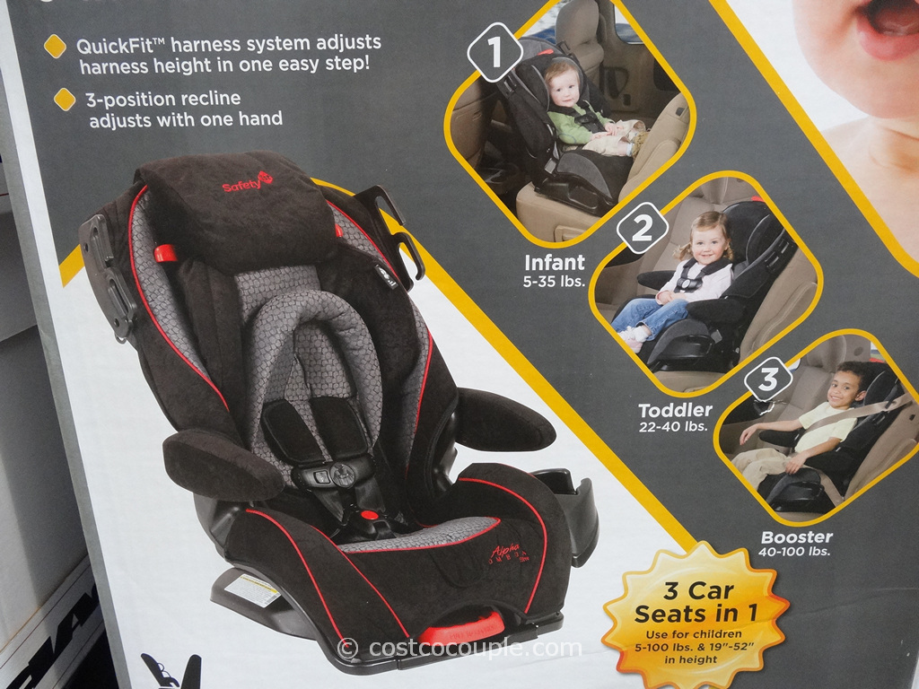 Safety 1st Alpha Omega Car Seat