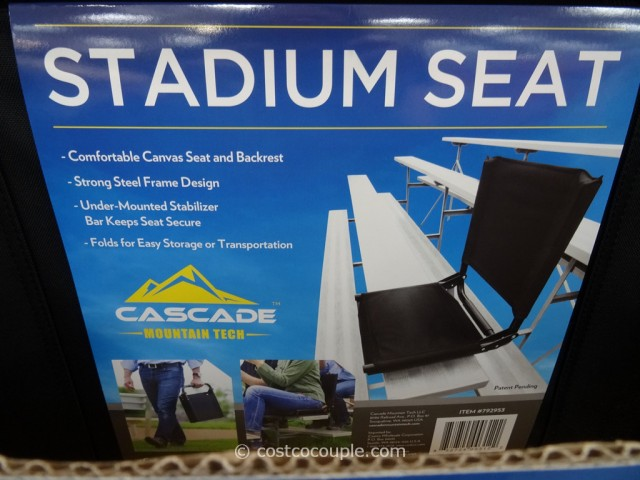 folding chair at costco serta office replacement parts cascade mountain stadium seat