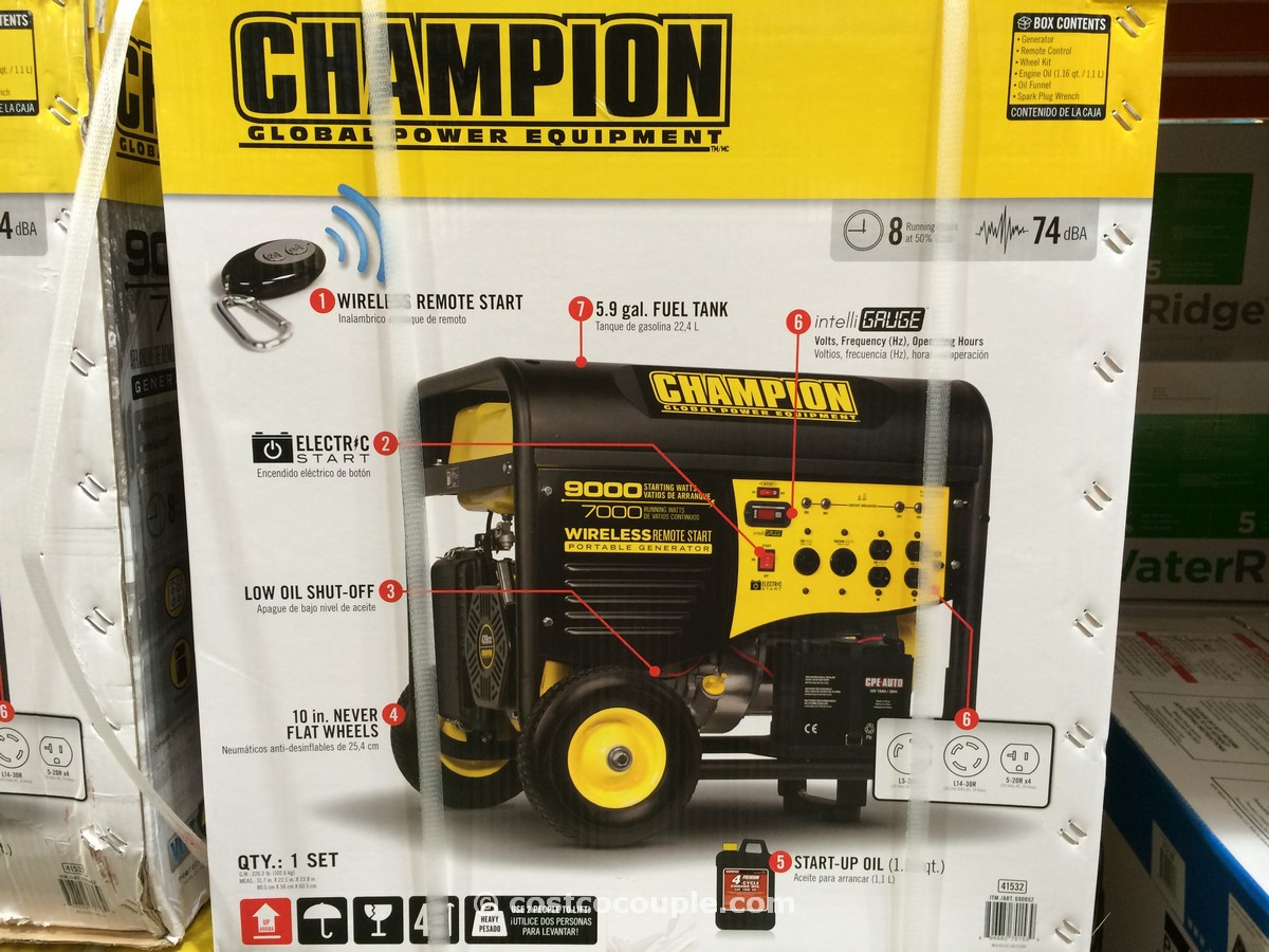 Champion Power Portable Generator