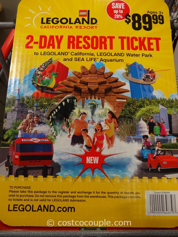 Legoland 2Day Resort Ticket Gift Card