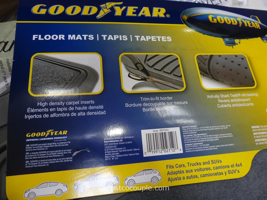 chair floor mat monogrammed childrens goodyear 4-piece car set