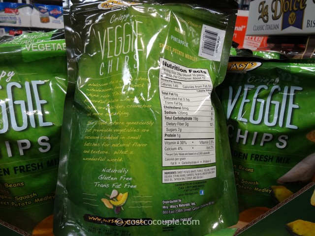Mrs Mays Crispy Veggie Chips