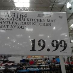 Novaform Anti Fatigue Kitchen Mat Cabinet Racks Anti-fatigue