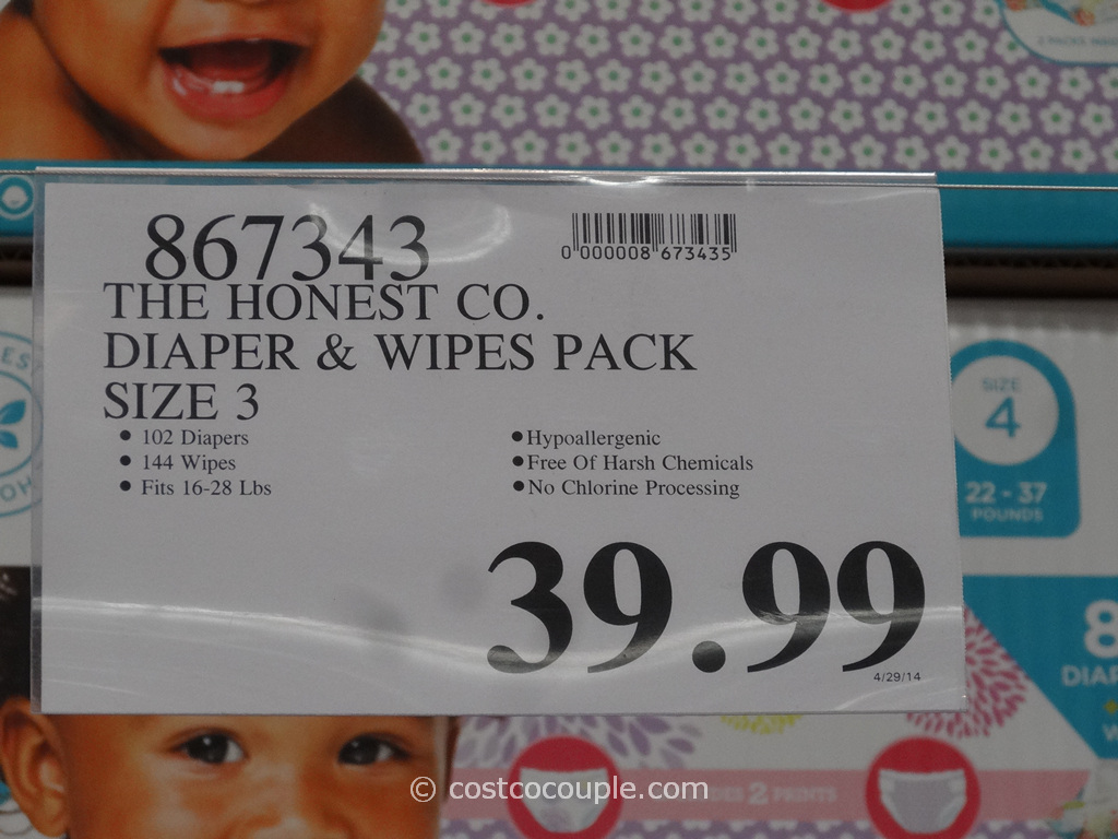 The Honest Company Diapers and Wipes Pack