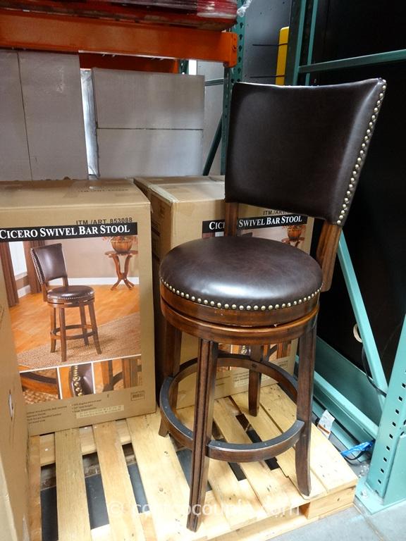 Hillsdale Furniture Cicero Swivel Barstool
