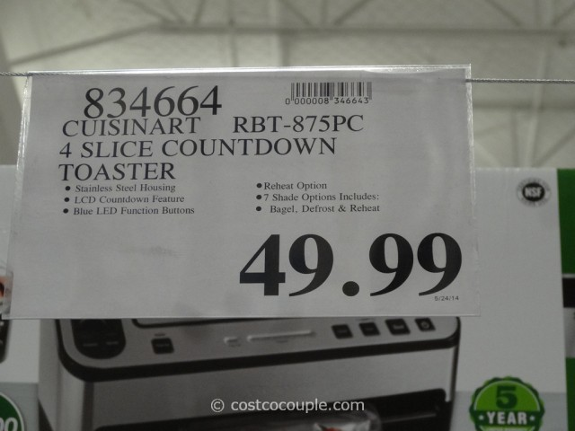 Cuisinart Countdown 4Slice Toaster