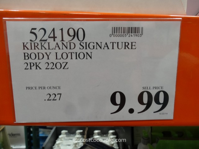 Kirkland Signature Body Lotion