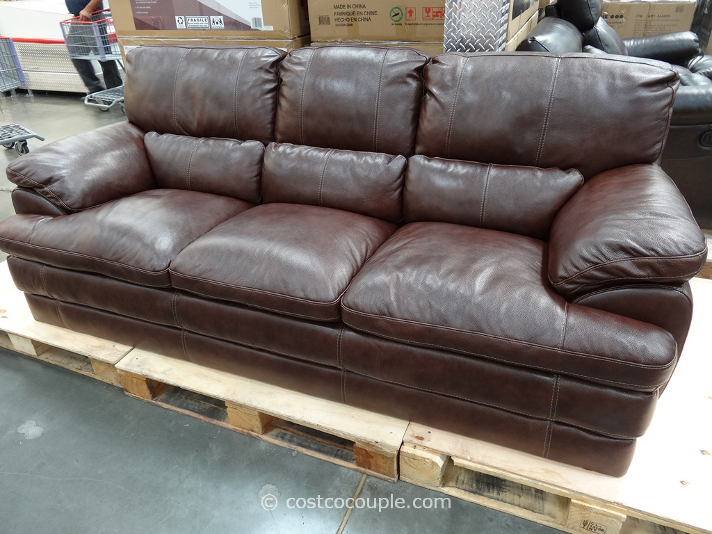 simon li leather sofa costco review rug colors for brown sofas sectionals thesofa