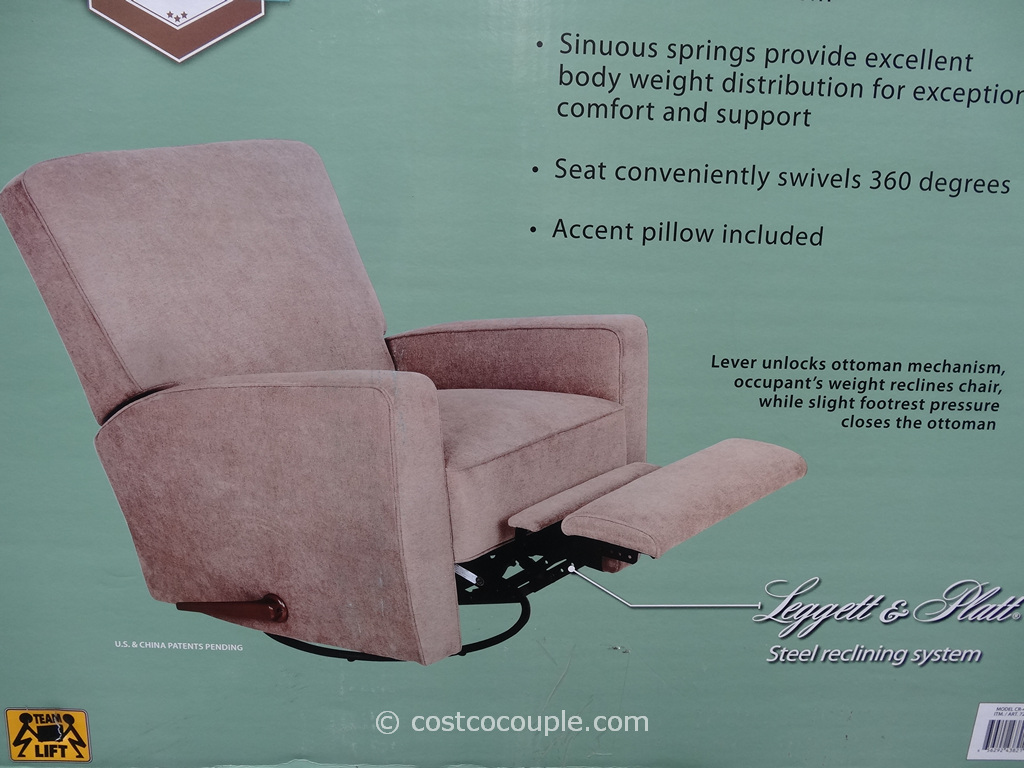 true innovations chair costco yoga stretches for seniors eliza swivel glider recliner