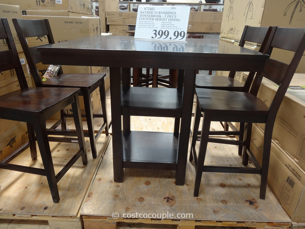 costco dining table and chairs grey nursery glider chair furniture decor