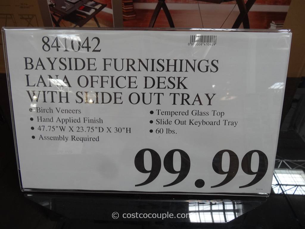 Bayside Furnishings Lana Computer Desk