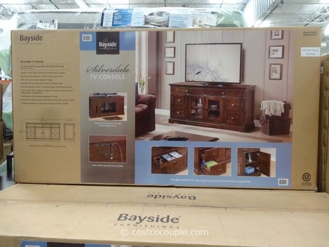 Bayside Furnishings Silverdale 65Inch TV Console