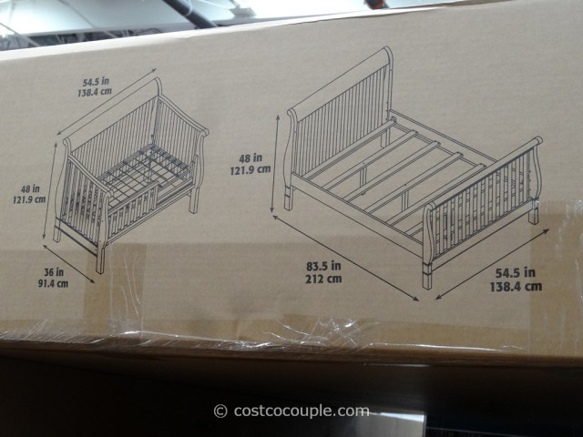 Cafe Kid Jamison Convertible 4in1 Crib