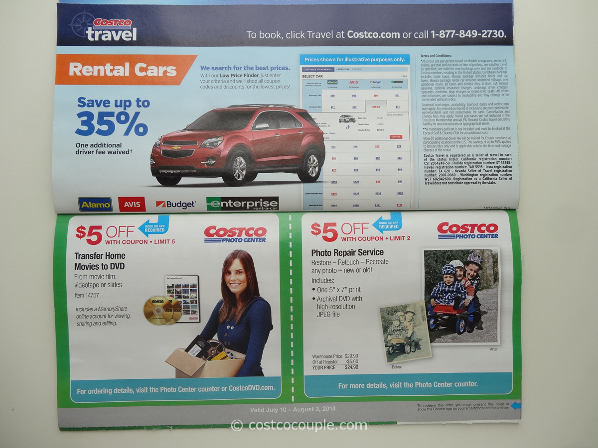 Costco July 2014 Coupon Book 071014 to 080314