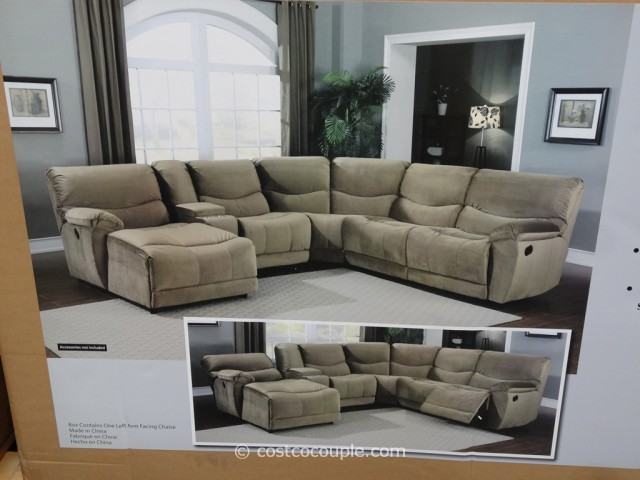 hayden sectional sofa costco charcoal velvet fabric baci living room marks and cohen tanner 5 piece motion 6